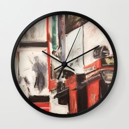 City Painting - New York Wall Clock