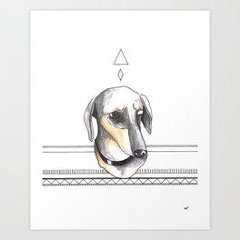 Dandine Art Print