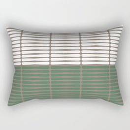 gomila (green/white) Rectangular Pillow