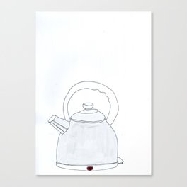 kettle Canvas Print