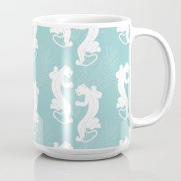 White Panther Coffee Mug
