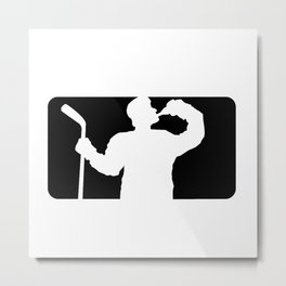 Beer League Metal Print
