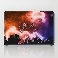 u2 iPad Cases featuring U2 / Adam Clayton / The Edge by JR van Kampen