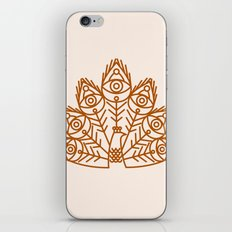 Cosmic Peacock iPhone & iPod Skin