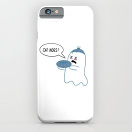 Little Ghost Beheaded iPhone Case