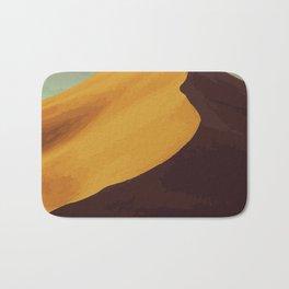 Athabasca Sand Dunes Poster Bath Mat