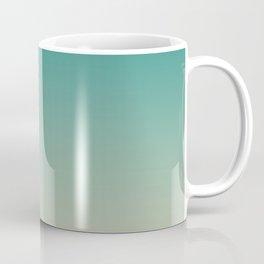 Teal and Angelskin Coral Tropical Paradise Island Hawaiian Beach Coffee Mug