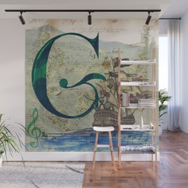 Letter G is for so many things Wall Mural