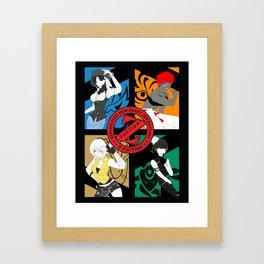 Z-FACTION - Pop Poster Framed Art Print