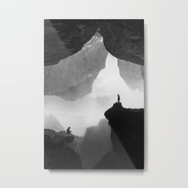 Parallel Isolation Metal Print
