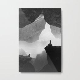 Parallel Isolation Metal Print