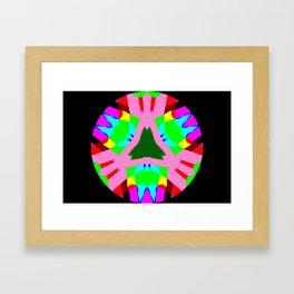 Abstract 3 Kaleidoscope Framed Art Print