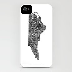 Typographic North Carolina Slim Case iPhone (4, 4s)