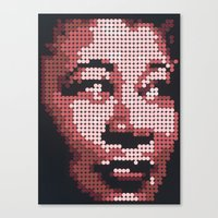fitzgerald Canvas Prints featuring Ella Fitzgerald by Andy Carey