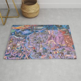 The Summer Inferno Rug