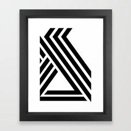 Hello IX Framed Art Print