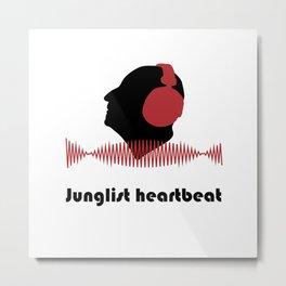 Junglist heartbeat - Men Metal Print
