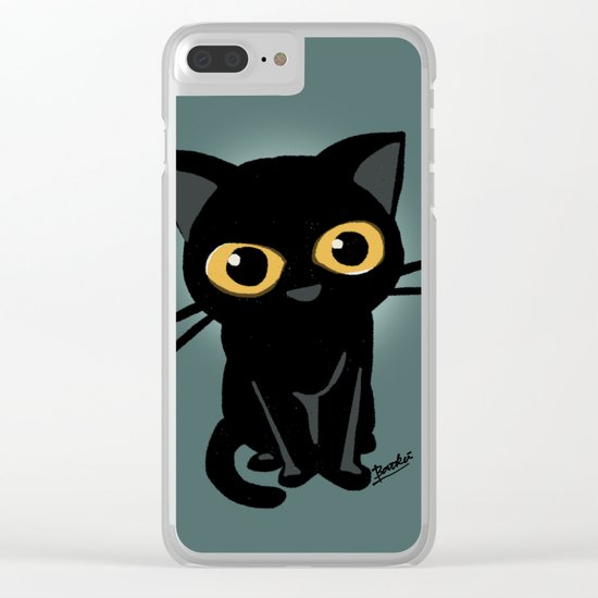 And then? Clear iPhone Case