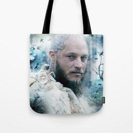 King of snow ravens. Tote Bag