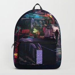 Blues of the Night Backpack