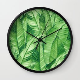 Jungle Life Tropical Wall Clock