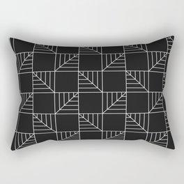 Square Leaf Rectangular Pillow