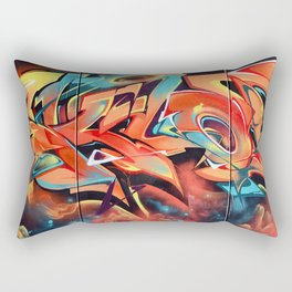 Colors Move Rectangular Pillow