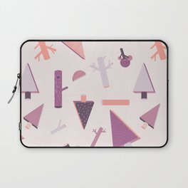 3D Geometry Forest 1 Laptop Sleeve