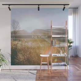 Day Court Wall Mural