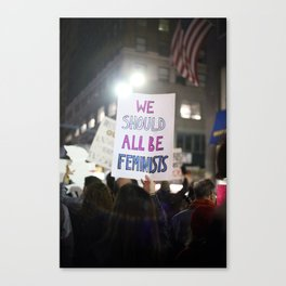 We Should All Be Feminists Canvas Print