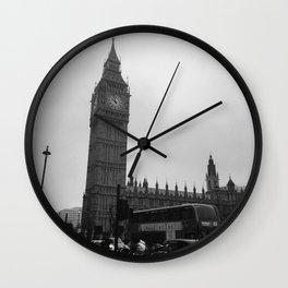 London #5 Wall Clock