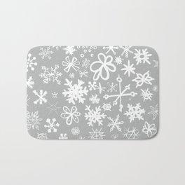 Snowflake Concrete Bath Mat