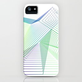 Geometric fantasy iPhone Case