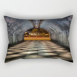 Tunnel of lights Rectangular Pillow