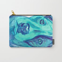 Painted Dog Carry-All Pouch