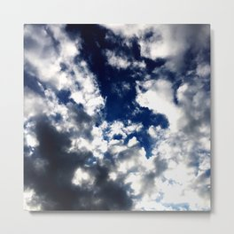 Subliminal Messages From Above Metal Print