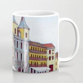 Postcard from Plaza Mayor, Segovia, Spain Coffee Mug