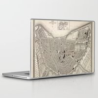 amsterdam Laptop & iPad Skins featuring Amsterdam by Le petit Archiviste