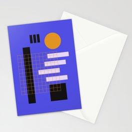 Urban Full Moon Night Stationery Cards
