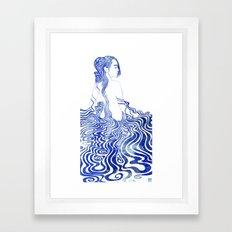 Water Nymph XV Framed Art Print