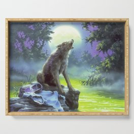 The Werewolf of Fever Swamp Serving Tray