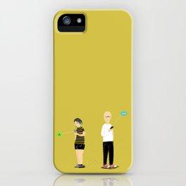(anti)-Social Interaction iPhone Case