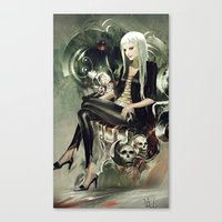 witch Canvas Prints featuring Witch by Lappisch