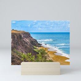 Praia Do Amor, Pipa - Brazil Mini Art Print