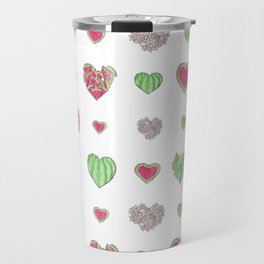 For the love of Watermelon   Travel Mug