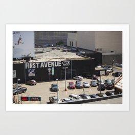 First Avenue Art Print