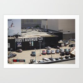 First Avenue Art Print