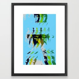 FPJ rhythm and blues Framed Art Print