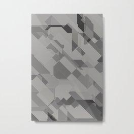 Graphites Metal Print