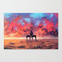 CANCER from the Dancing Zodiac Canvas Print